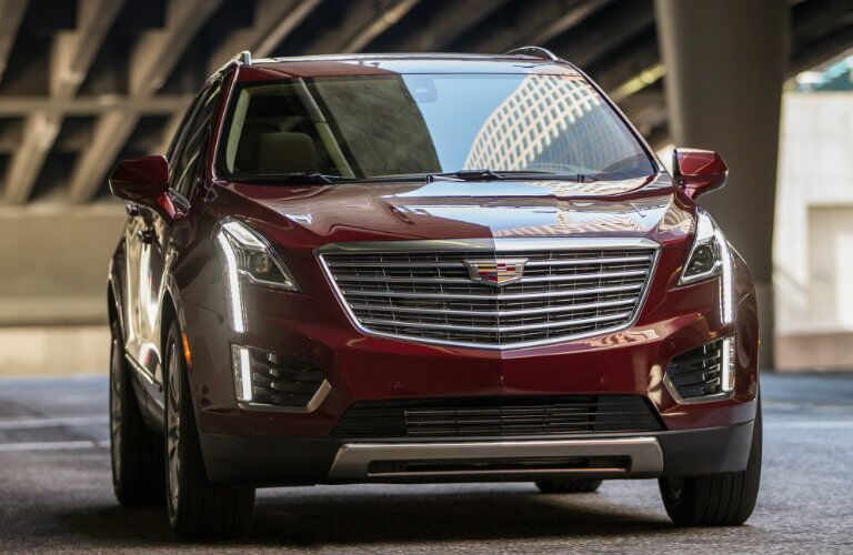 2017 Cadillac XT5 Grille and headlights