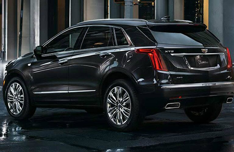2017 Cadillac XT5 taillights