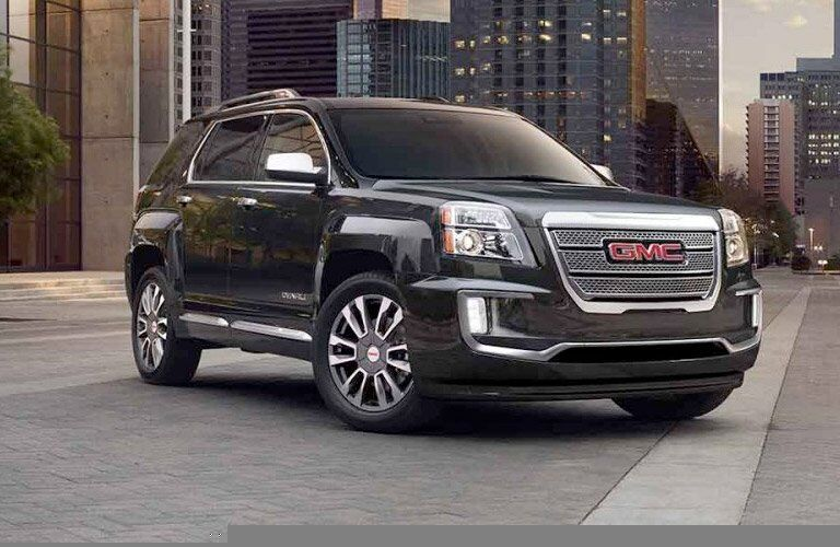 Used GMC Terrain front view