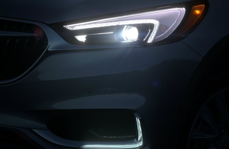 2018 Buick Enclave LED headlights