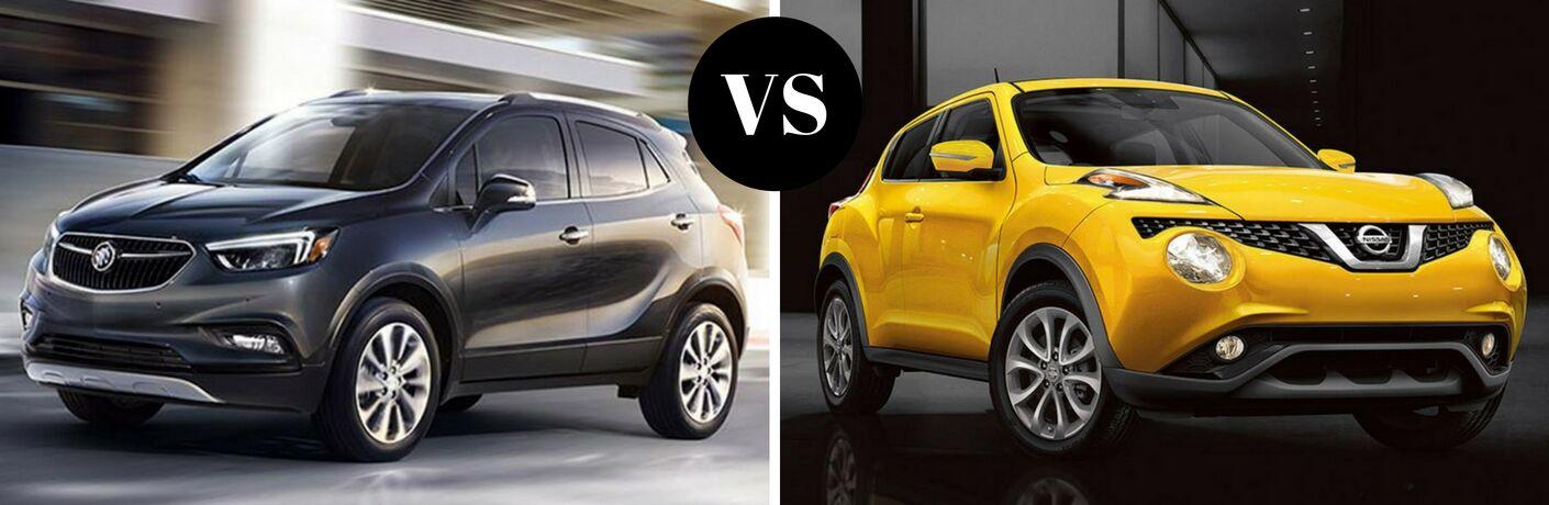 2017 Buick Encore vs 2017 Nissan Juke