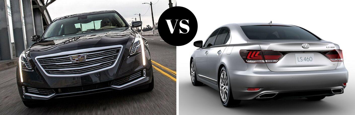 2017 Cadillac CT6 vs 2017 Lexus LS