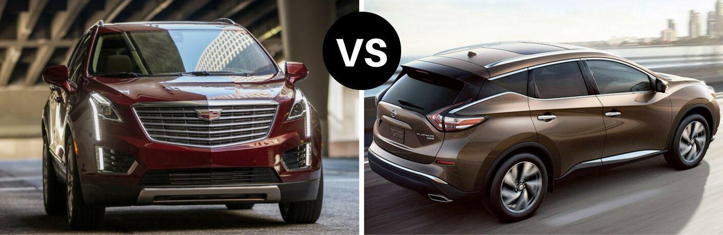 2017 Cadillac XT5 vs 2017 Nissan Murano