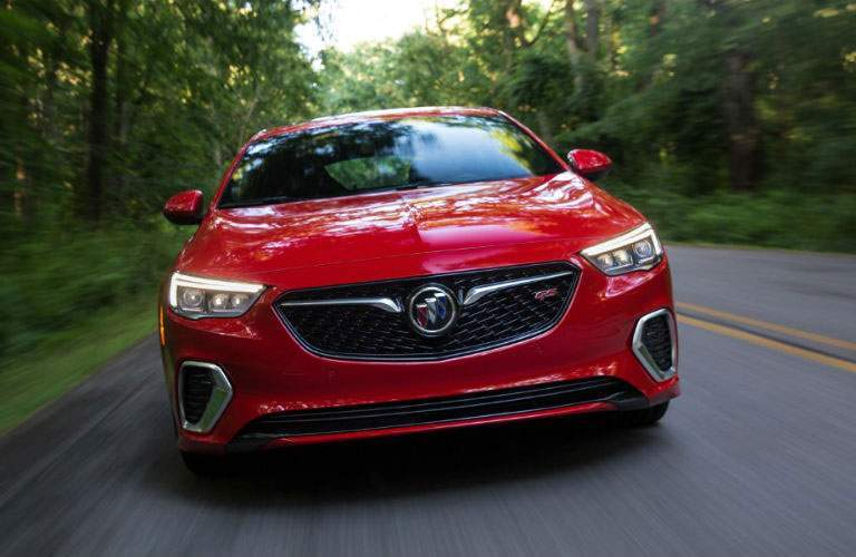 front view of 2018 Buick Regal GS