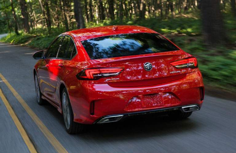 rear view of 2018 Buick Regal GS