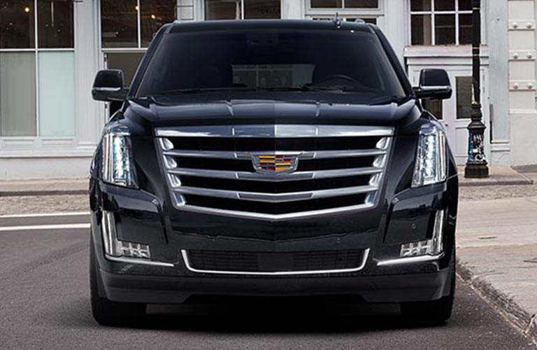 front view of 2018 Cadillac Escalade