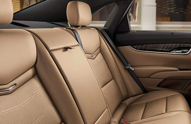 rear seats in 2018 Cadillac XTS