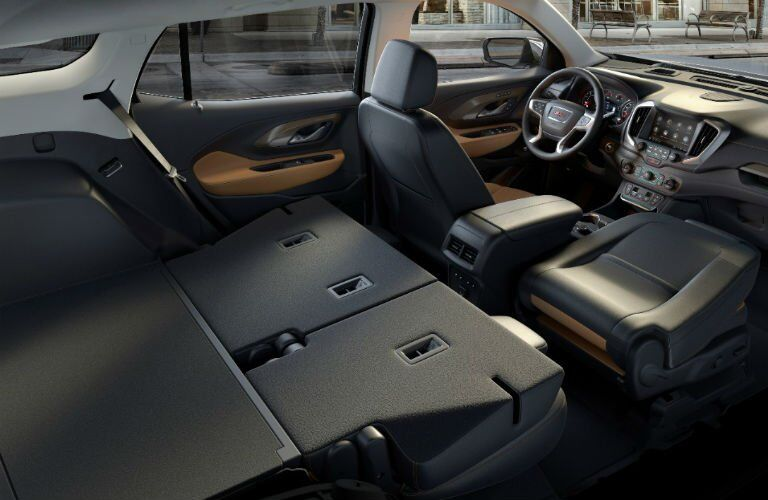 2018 GMC Terrain Cargo Space