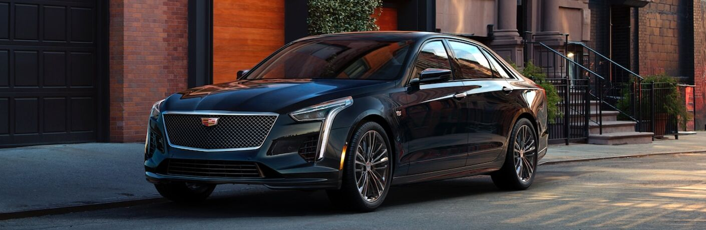 2019 Cadillac CT6 parked on the street