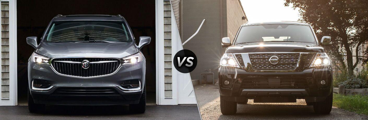 2019 Buick Enclave vs 2019 Nissan Armada