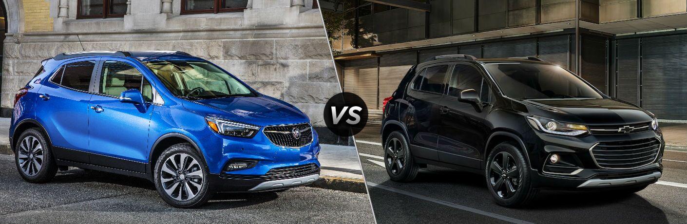 2019 Buick Encore vs 2019 Chevy Trax