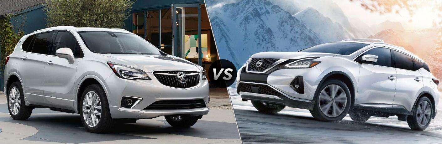 2019 Buick Envision vs 2019 Nissan Murano