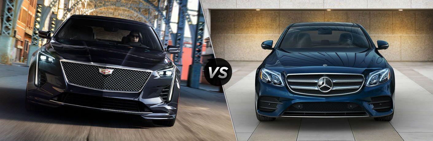 2019 Cadillac CT6 vs 2019 Mercedes-Benz E-Class Sedan