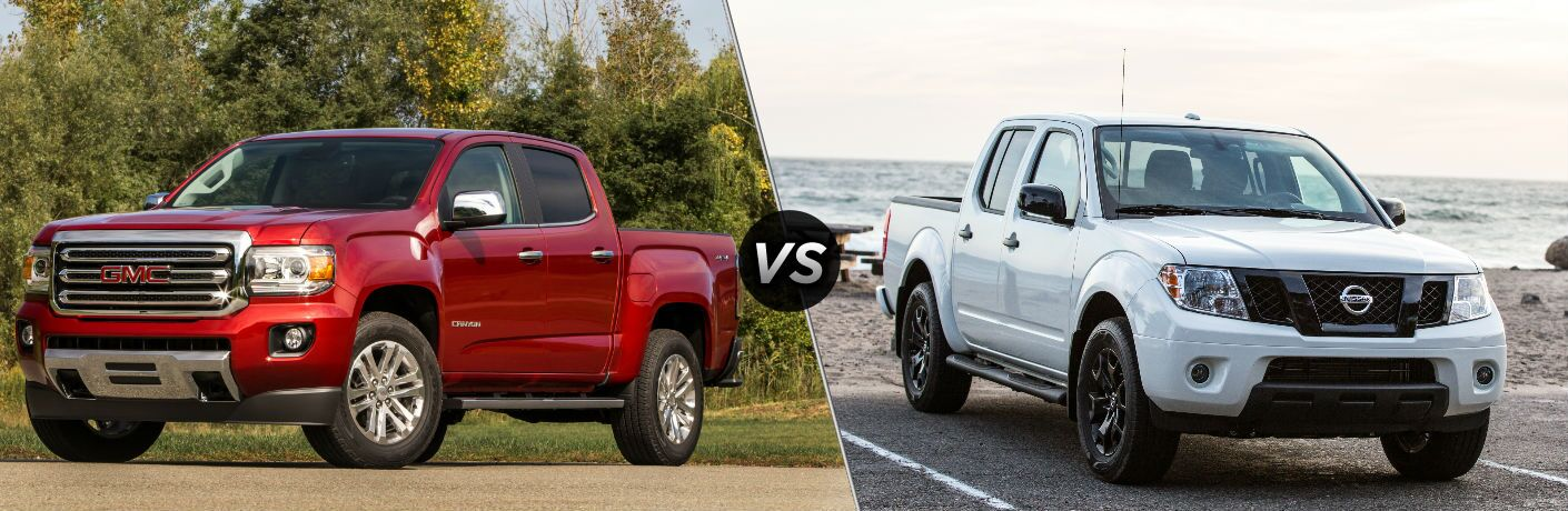 2019 GMC Canyon vs 2019 Nissan Frontier