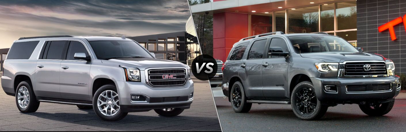 2019 GMC Yukon XL vs 2019 Toyota Sequoia