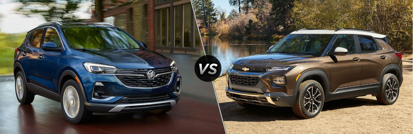 2020 Buick Encore GX vs 2021 Chevy Trailblazer
