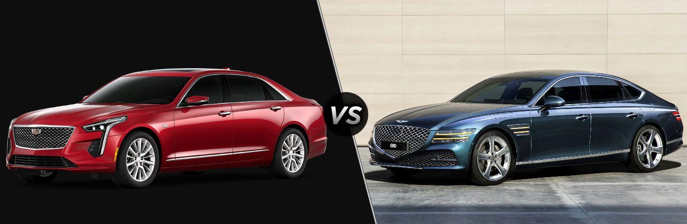 2020 Cadillac CT6 vs 2021 Genesis G80