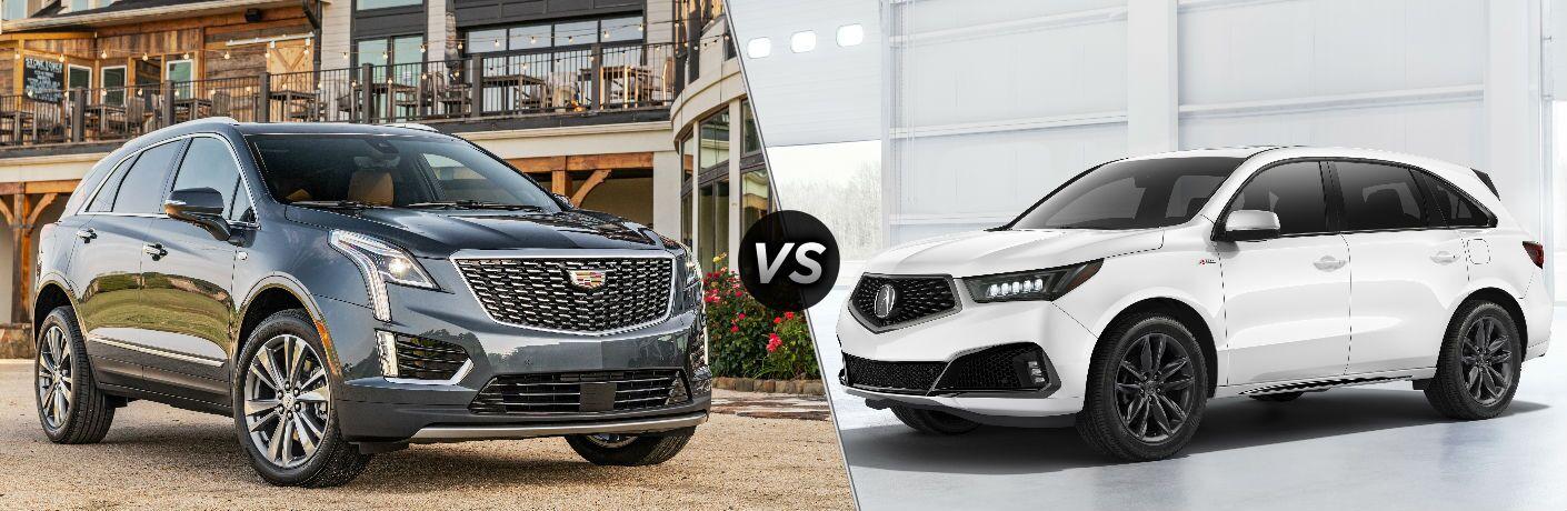 2020 Cadillac XT5 vs 2020 Acura MDX