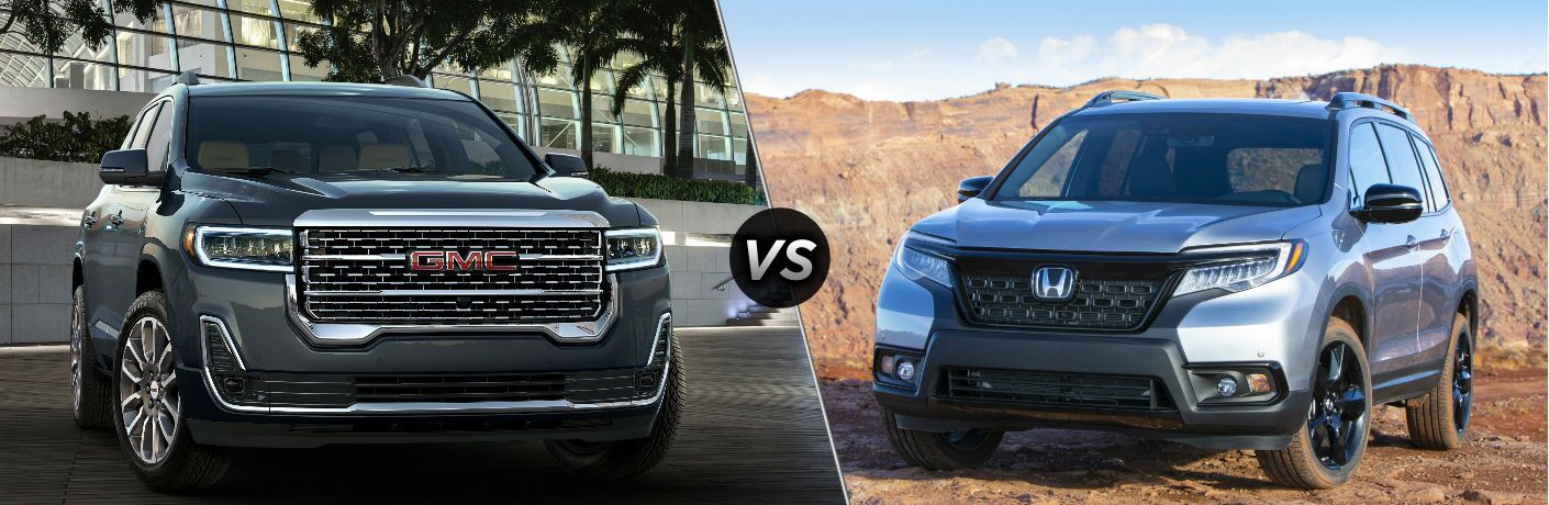 2020 Gmc Acadia Vs 2019 Honda Passport