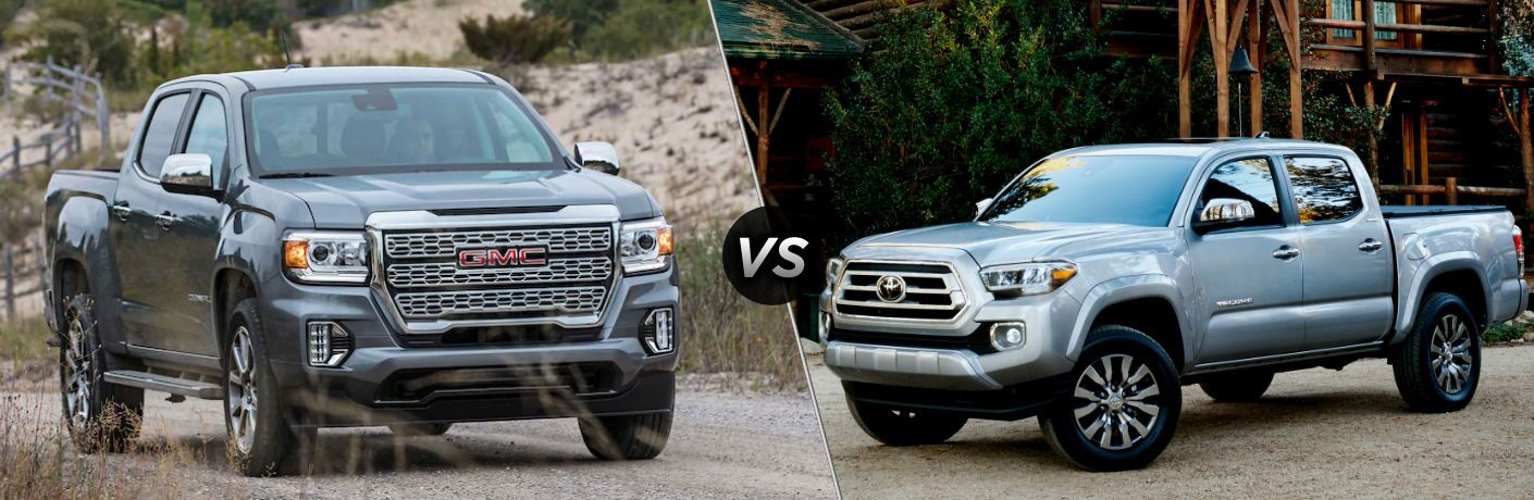 2021 GMC Canyon vs 2020 Toyota Tacoma