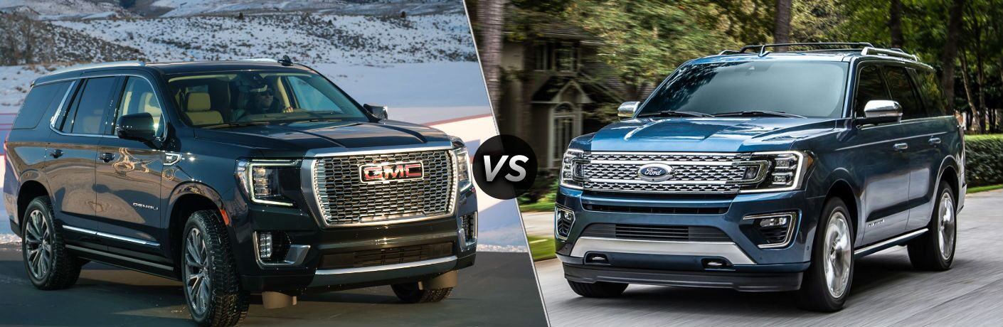 2021 GMC Yukon vs 2020 Ford Expedition