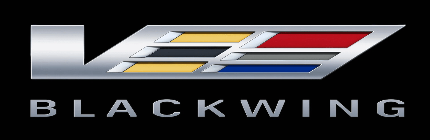Cadillac V Series Blackwing logo announcement teaser