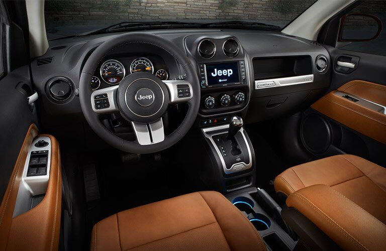 2017 Jeep Compass Redesigned Interior
