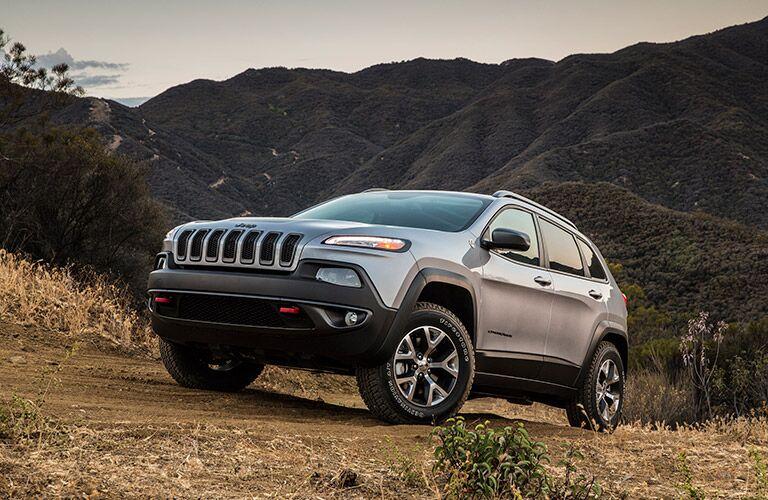 2017 Jeep Cherokee Black exterior details