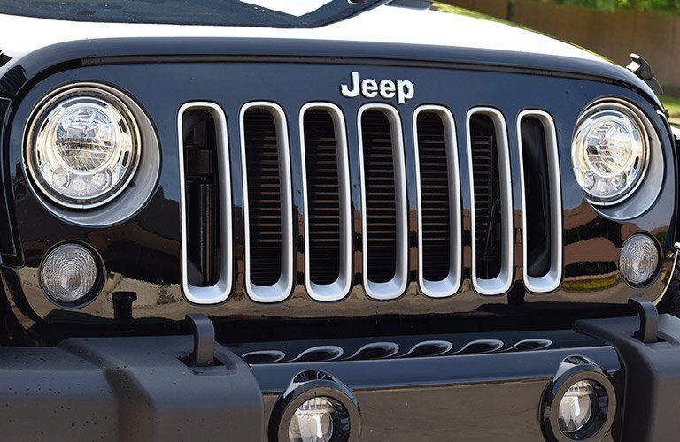 2017 Jeep Wrangler Grille Silver