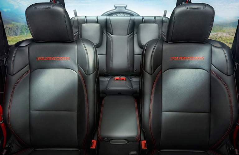 seats in 2018 Jeep Wrangler