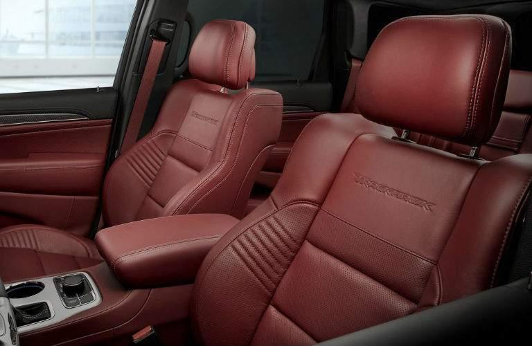 2018 jeep Grand Cherokee Trackhawk seating