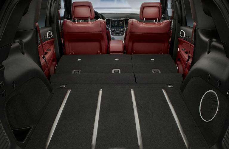 cargo space in 2018 Jeep Grand Cherokee