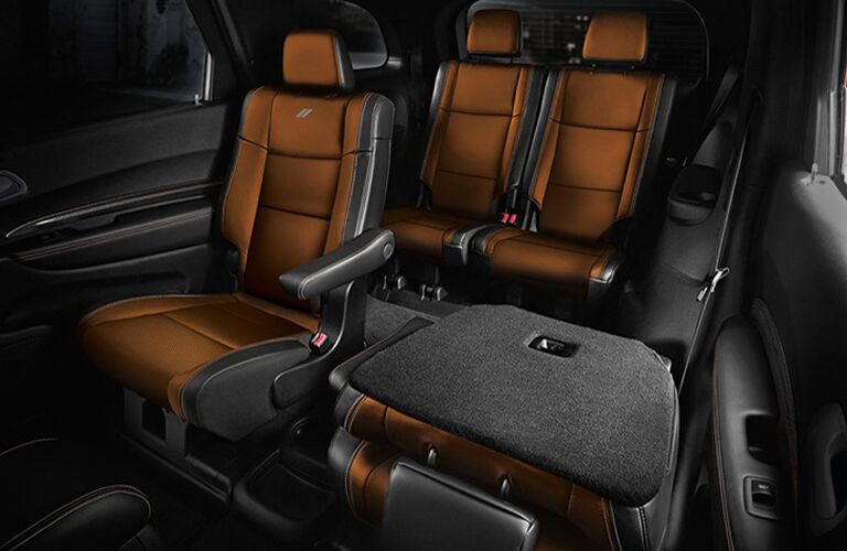 rear seats in 2019 Dodge Durango