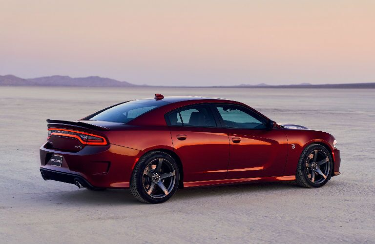 rear view of 2019 Dodge Charger parked