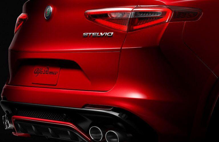 2018 Alfa Romeo Stelvio rear taillight