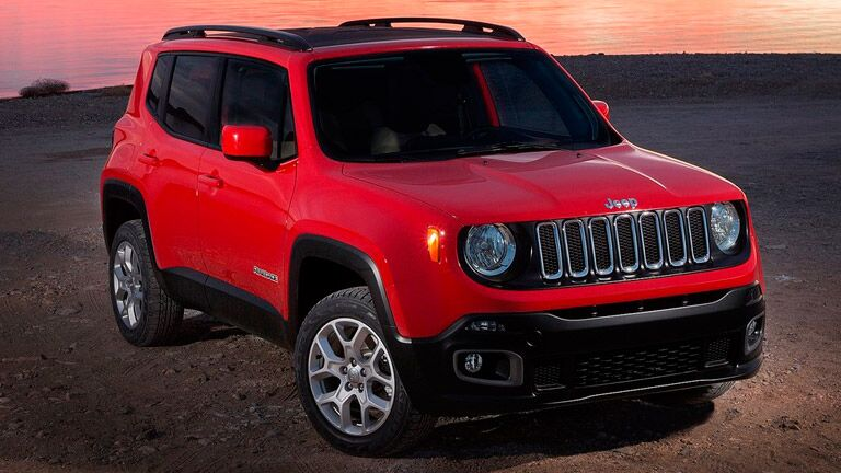 Used Jeep Renegade color options
