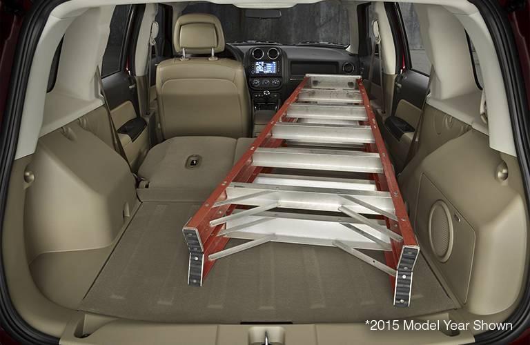 Jeep Interior Cargo Space