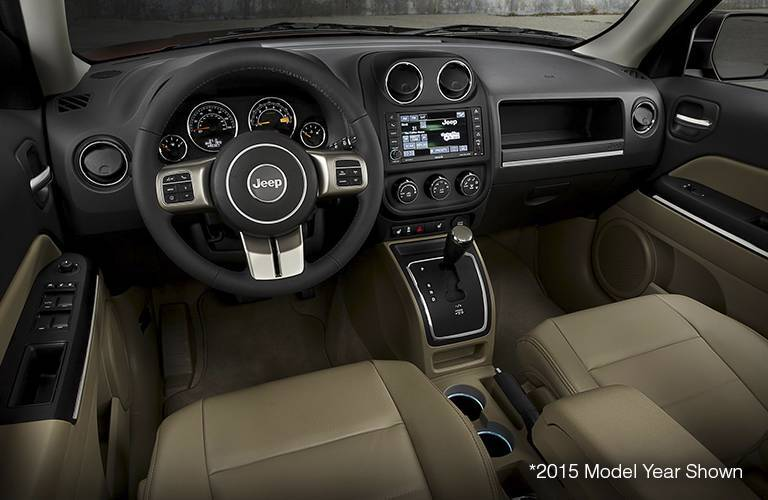 2017 Jeep Patriot Interior Dashboard