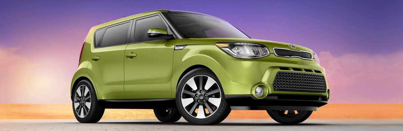 Used Kia Soul green color option