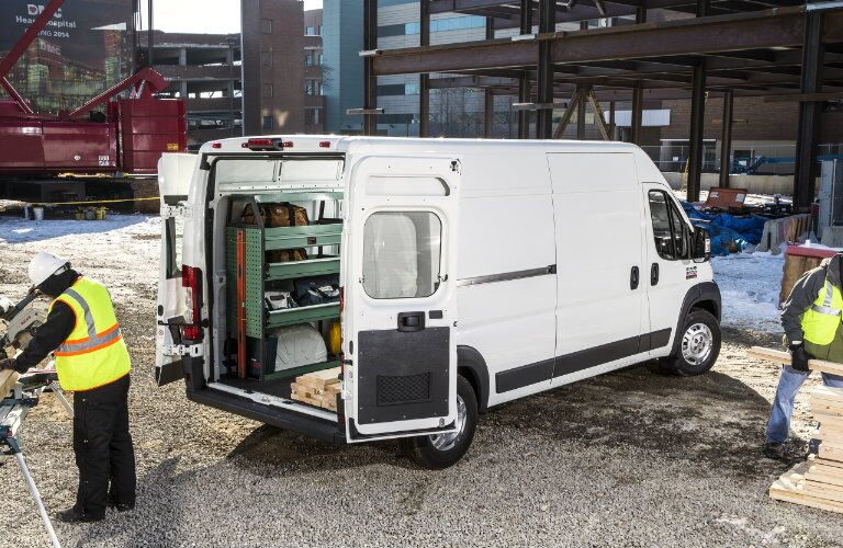 2016 RAM ProMaster Number of Doors