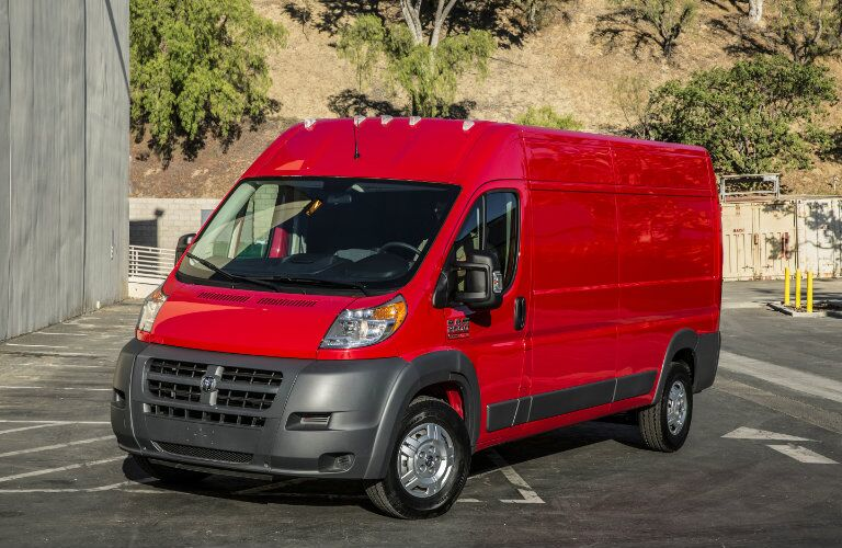 2016 RAM ProMaster Red for Sale