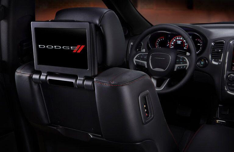 2017 Dodge Durango Rear Seat Entertainment