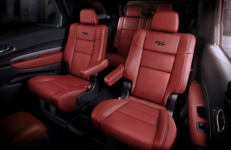 2017 Dodge Durango R T Seating Red