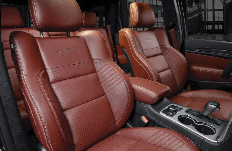 2017 Jeep Grand Cherokee SRT seating space
