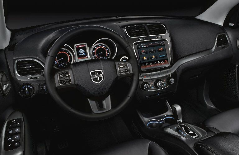 2017 Dodge Journey Dashboard and Touch Screen