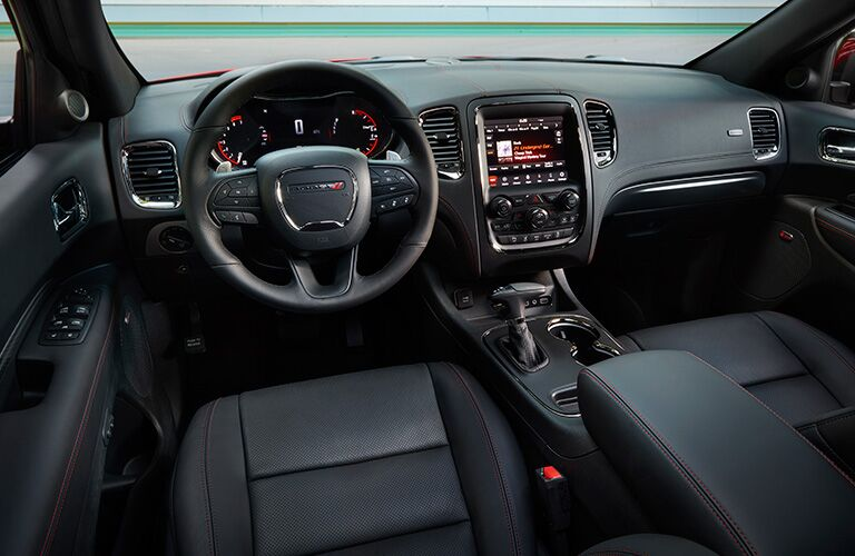 dashboard design in 2018 Dodge Durango