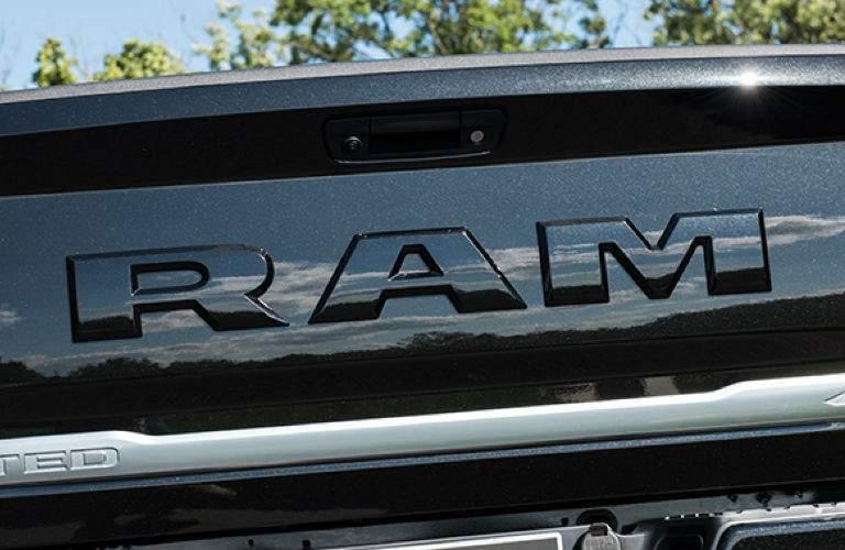 2018 Ram Limited Tungsten stamped tailgate