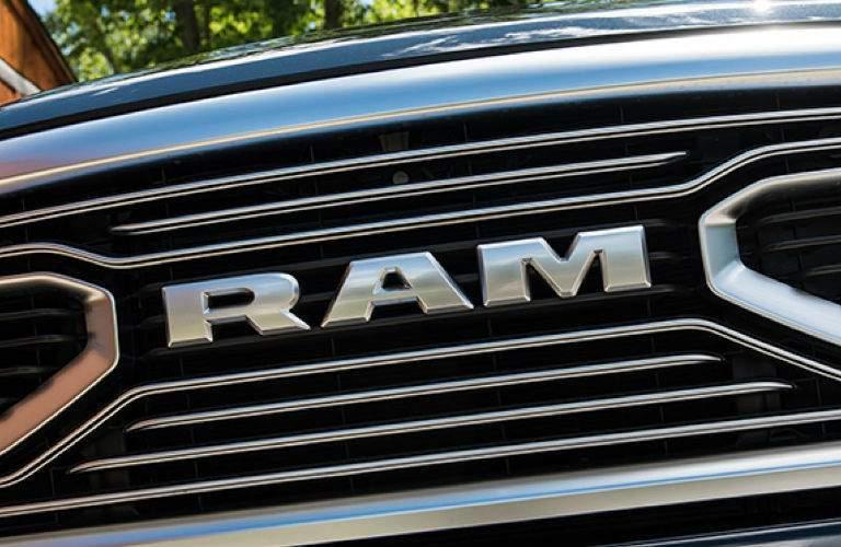 2018 Ram Limited Tungsten grille design