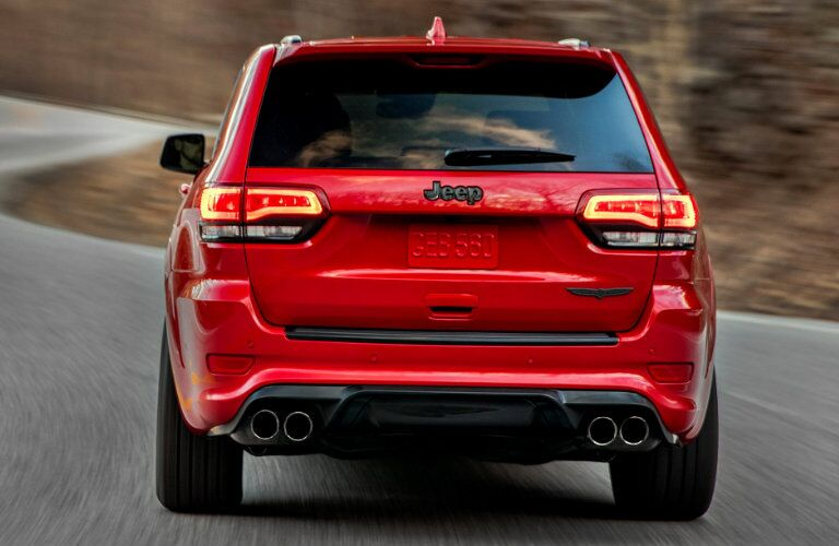 2018 Jeep Grand Cherokee Trackhawk LED Taillights
