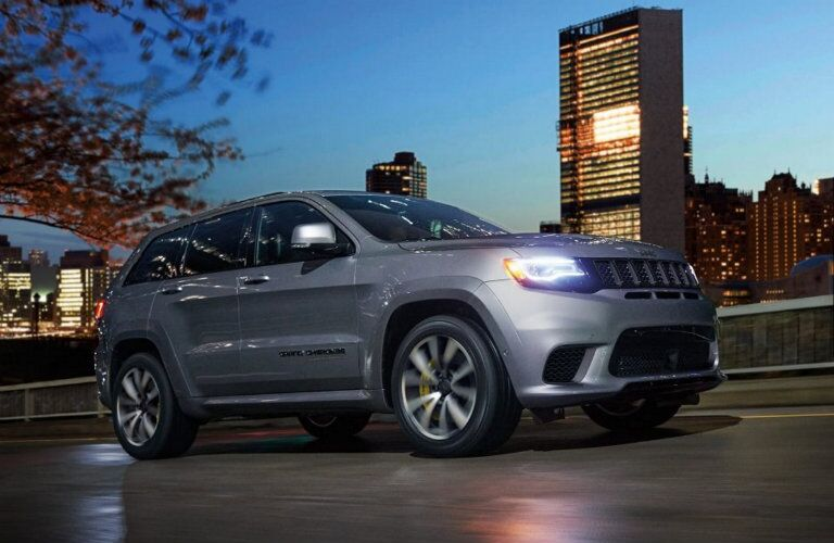 2018 Jeep Grand Cherokee Trackhawk Exterior Color options